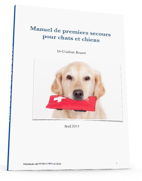 Manuel de premiers secours pour chats et chiens